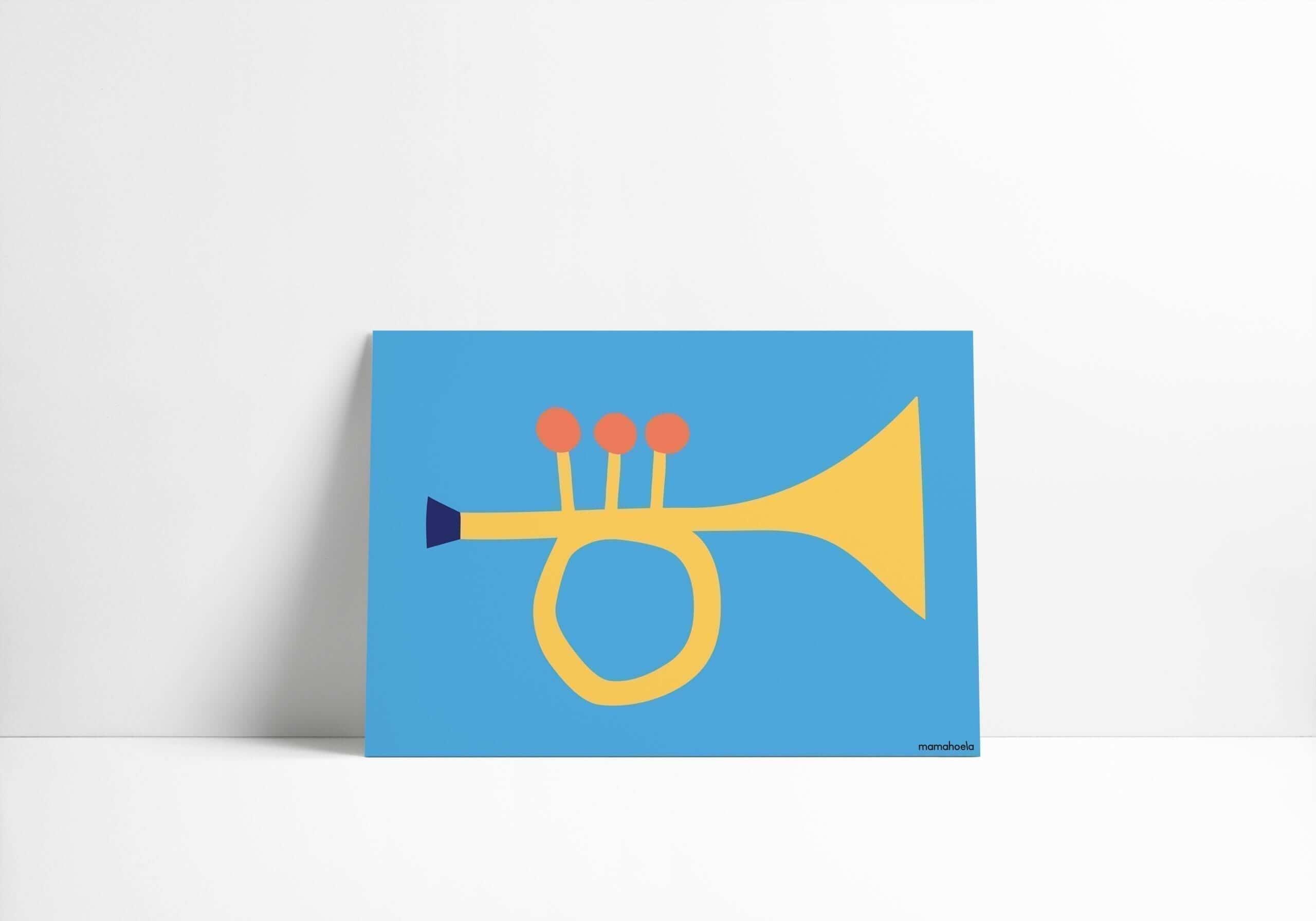 Mamahoela poster Trumpet horizontal