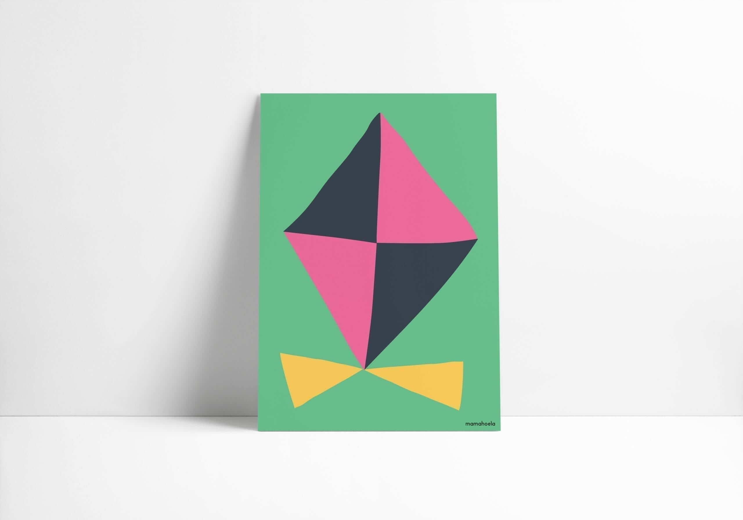 Mamahoela poster kite vertical