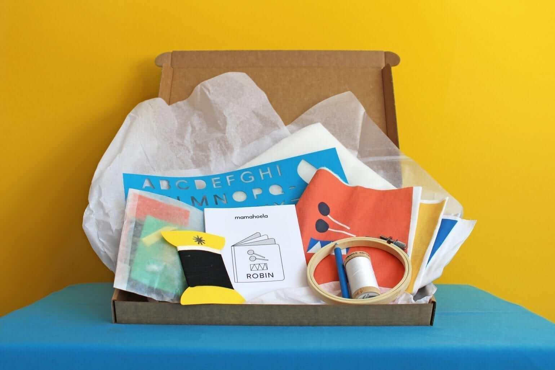 Boekje DIY craft kit box 1