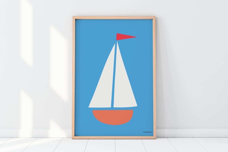 Mamahoela poster boat floor vertical