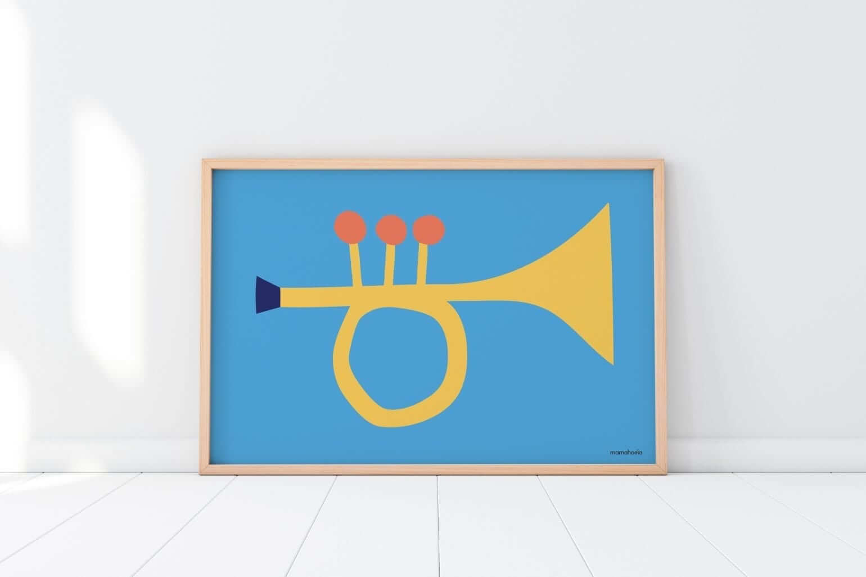 Mamahoela poster Trumpet floor horizontal