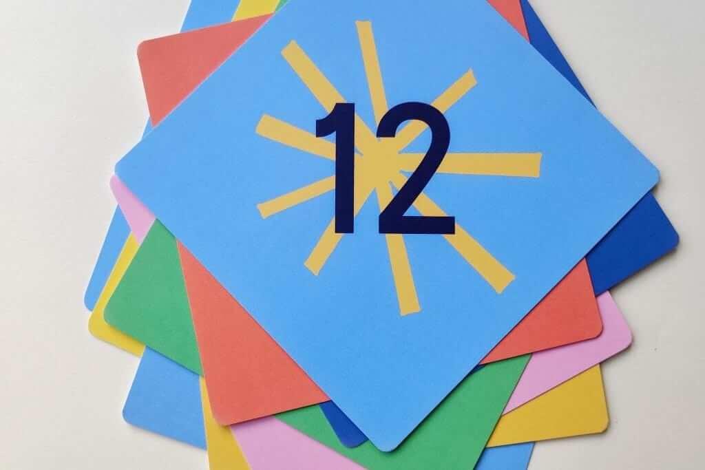 Mamahoela baby milestone cards set 12