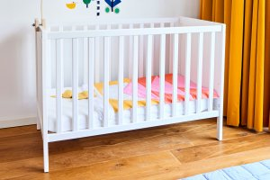 Easy quilted baby crib Blanket sun DIY kit interior Mamahoela